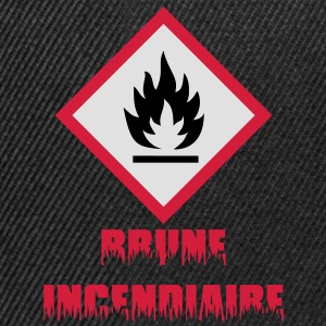 Brune Incendiaire Tee shirts - Casquette snapback