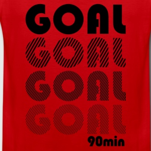 Goal in the 90 minute  T-Shirts - Men's Premium Tank Top