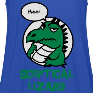 Sceptical Lizard Shirts - Women's Tank Top by Bella