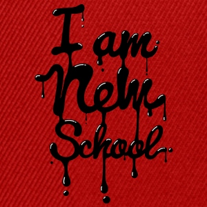 I am new school (Swag,Dope,Hipster) Shirts - Snapback cap