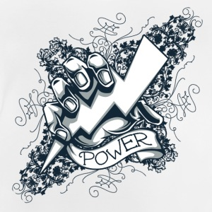 power  blitz tattoo  Skjorter - Baby-T-skjorte