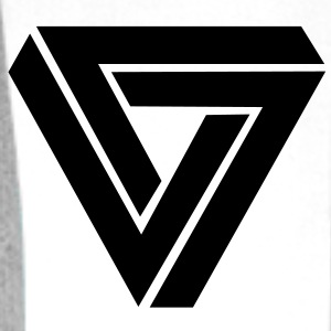 infinity triangle T-Shirts - Men's Premium Hoodie