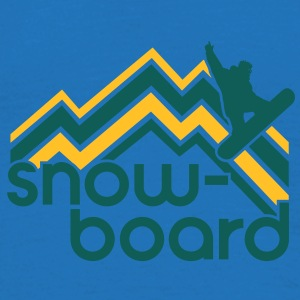 snowboard Bags  - Men's T-Shirt