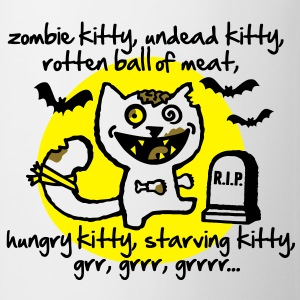 Zombie Kitty Camisetas - Taza