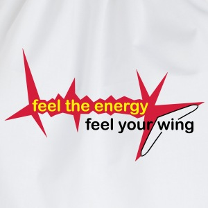 feel_the_energy Langarmshirts - Turnbeutel
