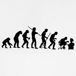 evolution - Baseballkappe