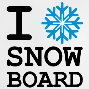 I Love Snow Board ! Tee shirts - T-shirt Bébé