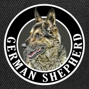 German Shepherd 002 Hoodies & Sweatshirts - Snapback Cap