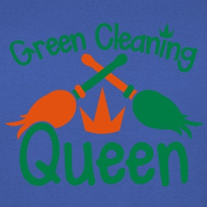GREEN CLEANING Queen! eco friendly cleaner T-Shirts - Men's Sweatshirt