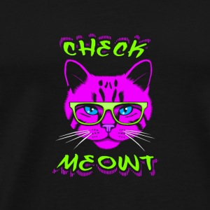 Check Meowt Bags  - Men's Premium T-Shirt