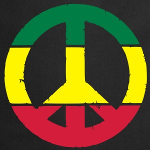 Peace and love rasta Tee shirts - Tablier de cuisine