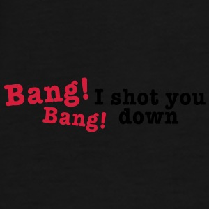 bang bang i shot you down 2c Vesker - Premium T-skjorte for menn