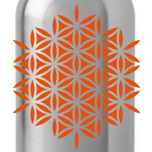 Flower of Life, Sacred Geometry, Yoga, Meditation, Zen, T-Shirts - Water Bottle