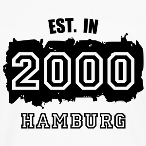 Established 2000 Hamburg T-Shirts - Männer Premium Langarmshirt