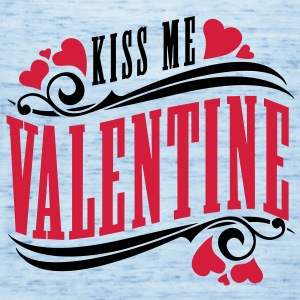 kiss me valentine T-Shirts - Frauen Tank Top von Bella