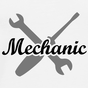 Mechanic Mécanicien open-end mécaniste tournevis  Badges - T-shirt Premium Homme