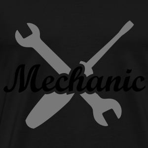 Mechanic open-end wrench screwdriver mechanist Pullover & Hoodies - Männer Premium T-Shirt