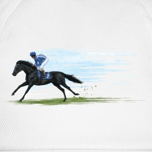 Black Racehorse T-Shirts - Baseball Cap