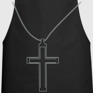 Cross necklace T-Shirts - Cooking Apron