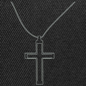 Cross necklace T-Shirts - Snapback Cap