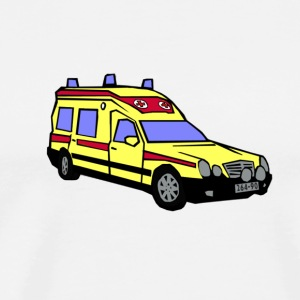Ambulans - Premium-T-shirt herr