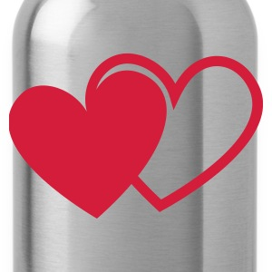 loving hearts Valentine's Day love I love you hear Caps & Hats - Water Bottle