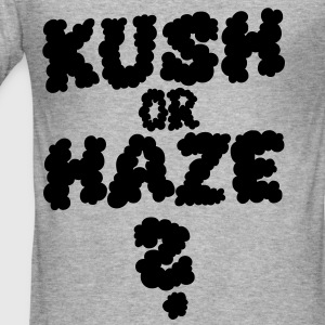 KUSH OR HAZE - Männer Slim Fit T-Shirt