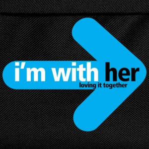 im_with_her Loving it together  - Kids' Backpack
