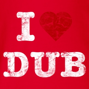 I Love DUB vintage light Tee shirts - Body bébé bio manches courtes