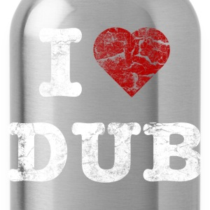 I Love DUB vintage light Pullover & Hoodies - Trinkflasche