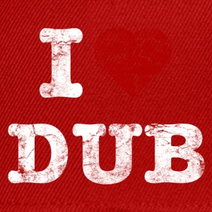 I Love DUB vintage light Camisetas - Gorra Snapback