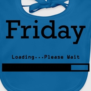 Friday Loading Camisetas - Babero ecológico bebé