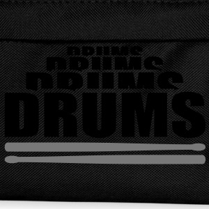 Drums drummer. Musicians.. Caps & Hats - Kids' Backpack