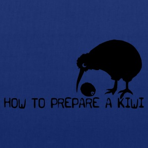 How to prepare a Kiwi - Stoffbeutel