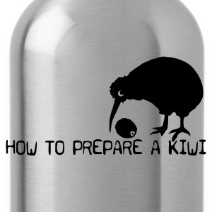 How to prepare a Kiwi - Trinkflasche