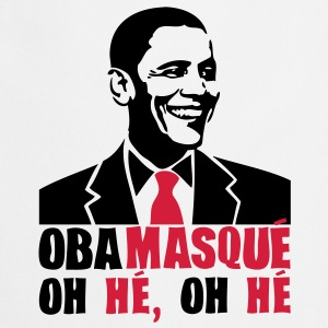 obamasque oh he president humour2 provoc Sweat-shirts - Tablier de cuisine