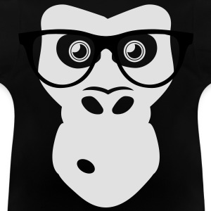 Nerd Ape with glasses Shirts - Baby T-Shirt