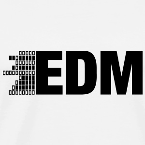 ELECTRO,DUBSTEP,EDM,MUSIC,DANCE,ELECTRONIC,MINIMAL Pullover & Hoodies - Männer Premium T-Shirt