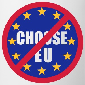 No to EU T-shirt - Mug