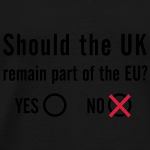 EU Referendum - NO Bag - Men's Premium T-Shirt