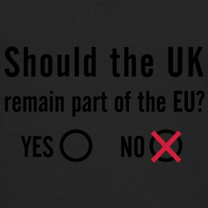 EU Referendum - NO Bag - Men's Premium Longsleeve Shirt