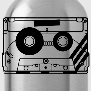 audio tape cassette T-Shirts - Water Bottle