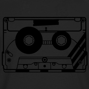 audio tape cassette T-Shirts - Men's Premium Longsleeve Shirt