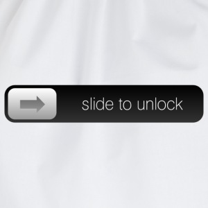 slide to unlock T-shirts - Sportstaske