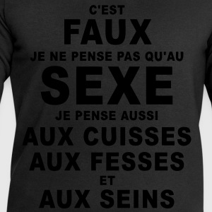 sexe humour Tee shirts - Sweat-shirt Homme Stanley & Stella