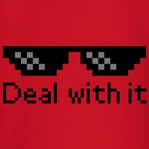 Deal With It Tröjor - Långärmad T-shirt baby