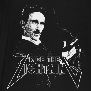 Ride The Lightning Nikola Tesla Sweaters - Mannen Premium T-shirt
