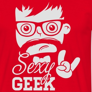 Like a swag style sexy geek nerd boss t-shirts Sweaters - Mannen T-shirt
