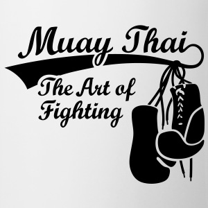 Muay Thai - The Art of Fighting Tee shirts - Tasse