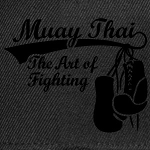 Muay Thai - The Art of Fighting Sacs - Casquette snapback
